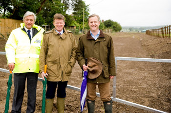 Bucklebury Flood Channel opening